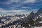Mont Blanc panorama — Stock Photo