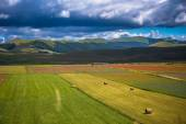 Castelluccio di Norcia - Piangrande — Stock Photo