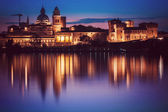 Skyline Mantua — Stockfoto