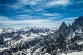 Mont Blanc panorama — Stok fotoğraf