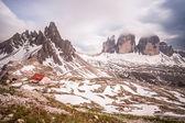 Mountain panorama in Italy Dolomites — Stock Photo