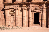 The Monastery - Petra, Jordan — Stock Photo