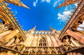 Roof of the Famous Milan Cathedral, Italy — Stock Photo