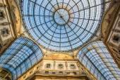 Vittorio Emanuele gallery in Milan — Stock Photo