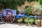 Old cart ornamental — Stock Photo