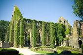 Abbey of Villers La Ville, church ruin — Stock Photo