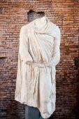 Dacian staty antika Rom från Trajanus forum — Stockfoto