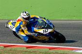 ROME, ITALY - SEPTEMBER 30 2007. Superbike championship, Vallelu — Stock Photo