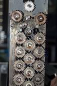Gears voor photo printer — Stockfoto