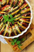 Vegetable tian — Stock Photo