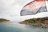 Flag of Croatia — Stock Photo