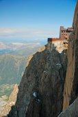 Photo of Aiguile de midi, near to Mont Blanc — Stock Photo