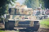 Tank Tiger, imitation — Stock Photo