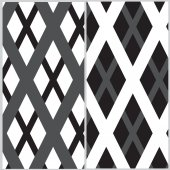 Set of two grille pattern — Stock Vector