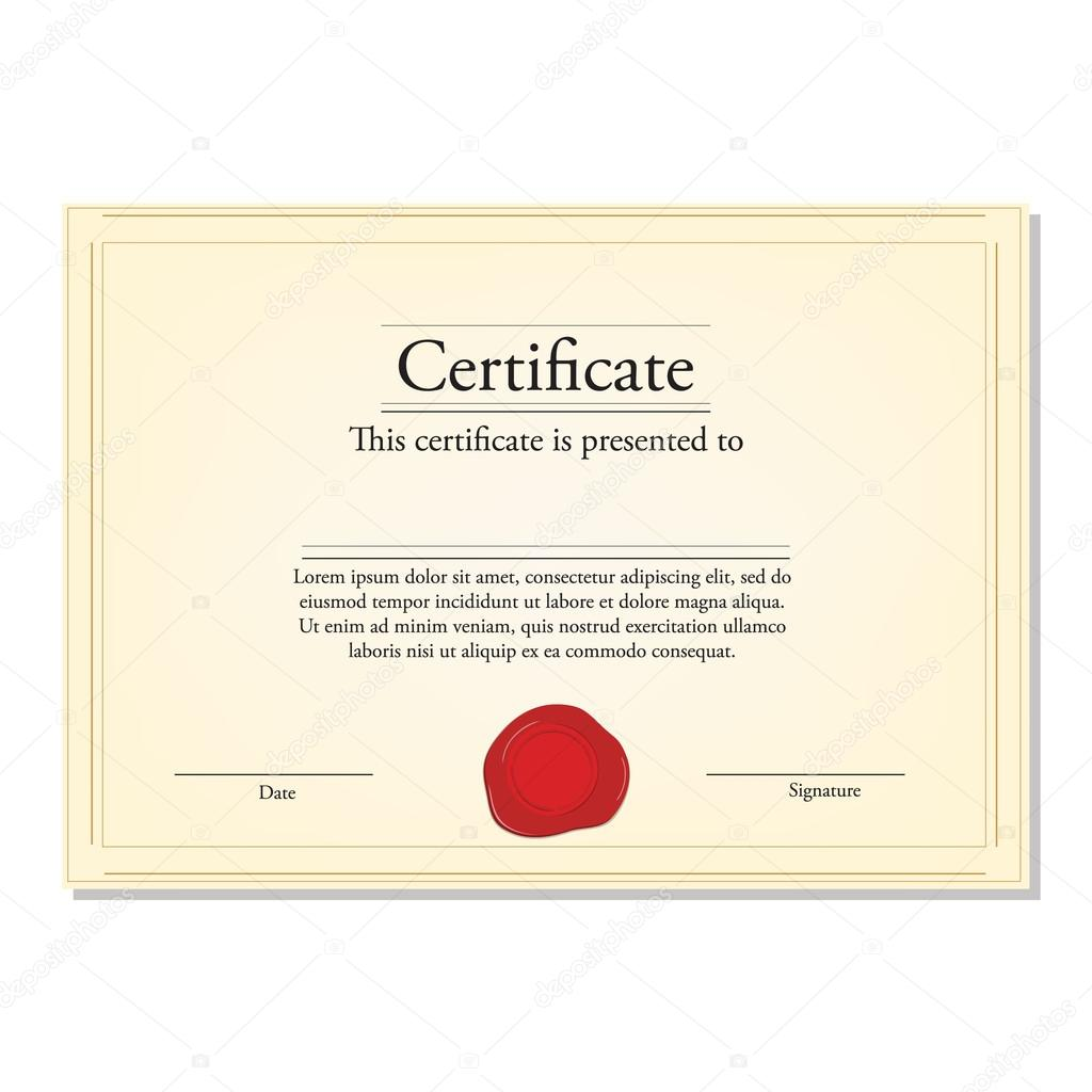 Share Certificate Template Uk