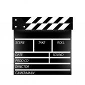 Cinema flap — Stock Vector