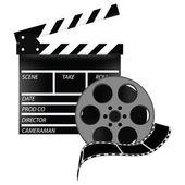 Cinema set — Stock Vector