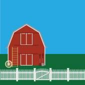 Countryside — Stock Vector