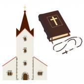 Religious set — Stock Vector