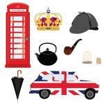 London symbols — Stock Vector #81649480
