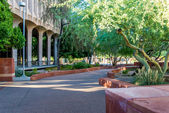 Urban streetscapes and buildings in downtown Phoenix, AZ — Stockfoto