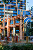 Urban streetscapes and buildings in downtown Phoenix, AZ — Stock Photo