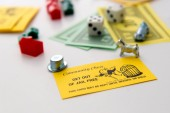 Monopoly board game in play — Стоковое фото