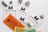 Monopol Brettspiel im Spiel — Stockfoto