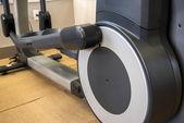 Indoor fitness equipment - elliptical machine — Stock Photo