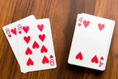 Playing cards - — Stock Photo