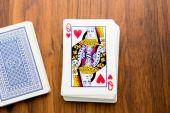 Playing cards -  — Stockfoto