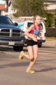 Houston 2015 marathon runners — Stock fotografie