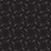 Seamless monochrome bird pattern — Stock Vector