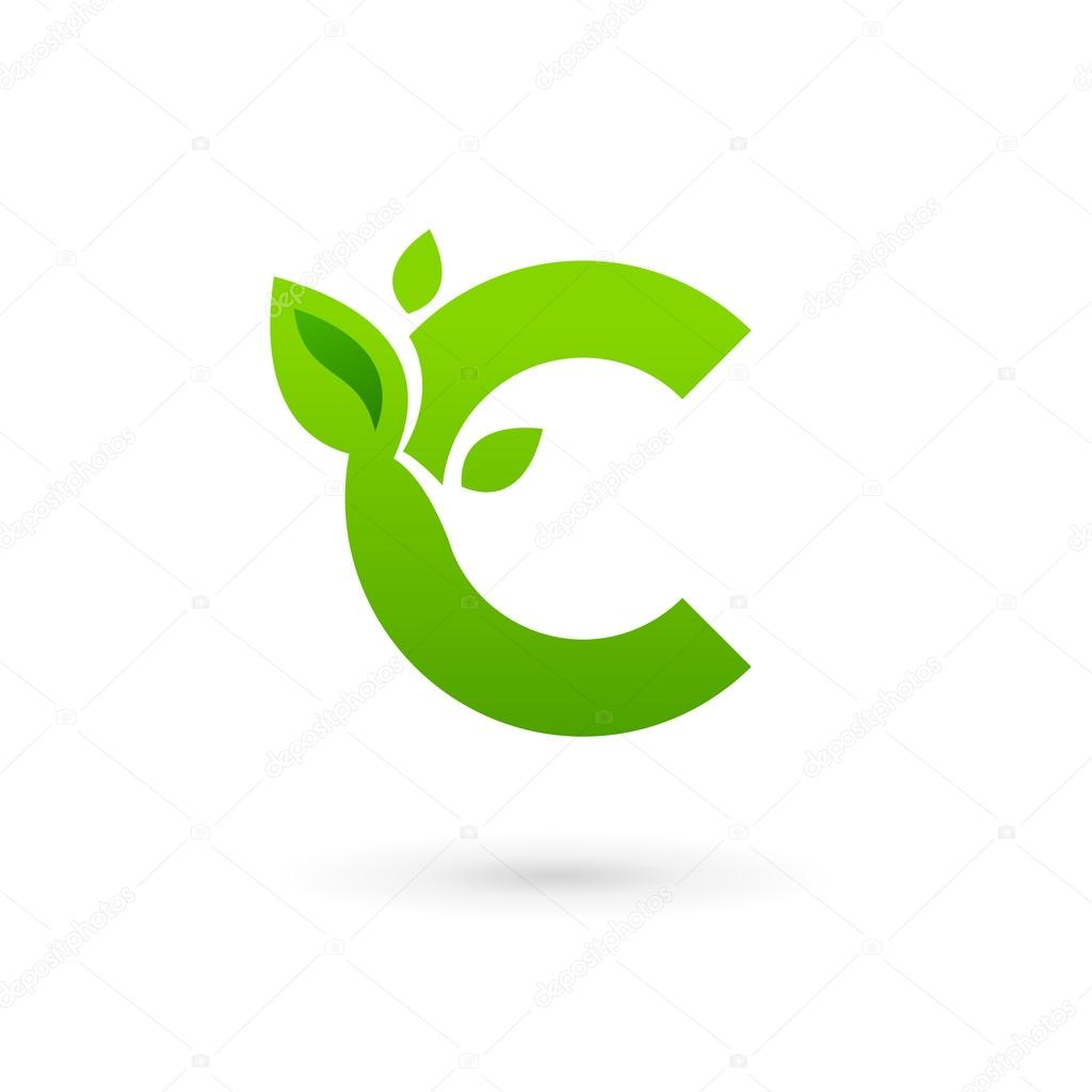 Black circle logo with green bird
