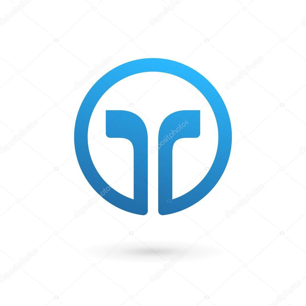 Letter t logo design Vector  Free Download