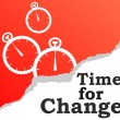 Time for change background — Stock Vector #74926061