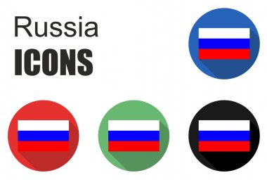 Set russia icons