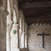 Sepulveda church gallery, Spain — ストック写真