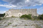 Ruins of a small castle — Foto Stock