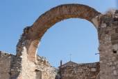 Ruins of the church of San Pedro in Hita, Guadalajara, Spain — Стоковое фото