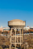 View of a water reservoir — Stock Photo