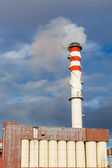 Factory chimneys — Stock Photo