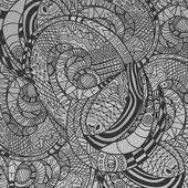 Monochrome decorative Snake Pattern — Stock Photo