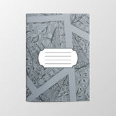 Decorative ethnic Ornament for Notebook Cover — Stock Photo