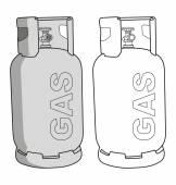 GAS tank — Stock Vector