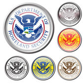 Emblem of united state department of homeland security — Stock Vector