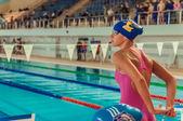 Permer Region Meisterschaft schwimmen — Stockfoto
