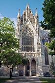 Votivkirche (Vows church) by Heinrich von Ferstel in Vienna — Stock Photo