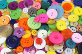 Many coloured sewing buttons — Stock Photo
