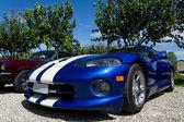 Sportive usa car: dodge viper — Stock Photo